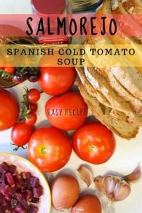 Salmorejo – Spanish Cold Tomato Soup - PIN2
