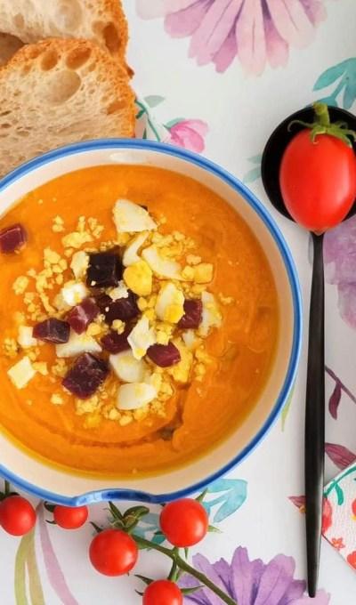 Salmorejo – Spanish Cold Tomato Soup