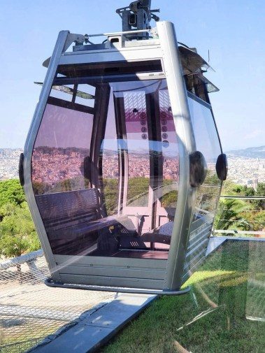Discover Barcelona - Montjuic Castle Visit & Cable Car - Self Guided Tour- cable car ride to montjuic castle