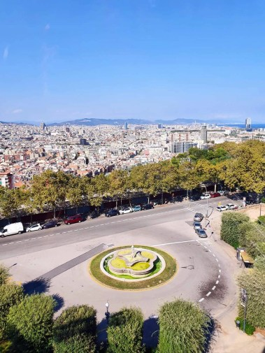 Discover Barcelona - Montjuic Castle Visit & Cable Car - Self Guided Tour- view from the cable car
