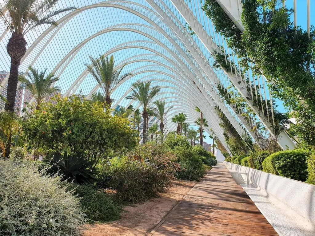 2-Days-in-Valencia-Spain-Full-Guide-City-of-Arts-and-Sciences- L'Umbracle