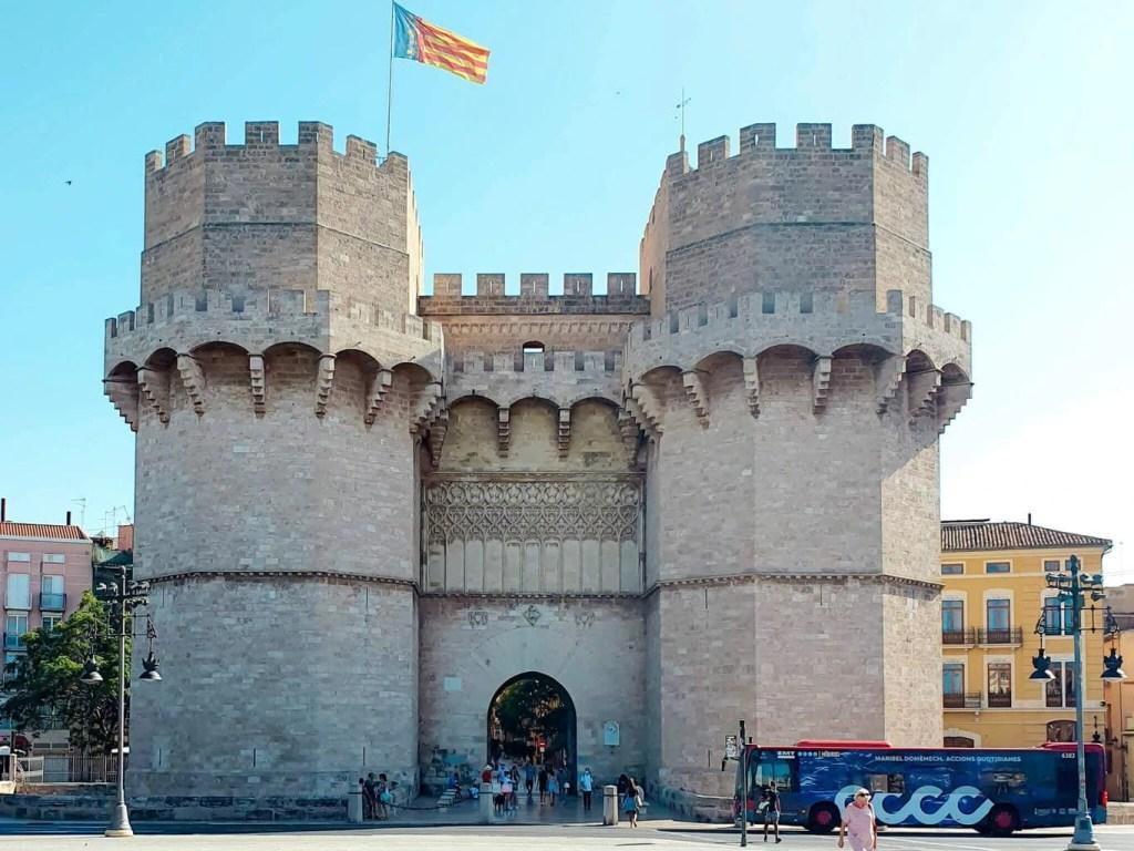2 days in Valencia (Spain) - full guide - Serrano Towers