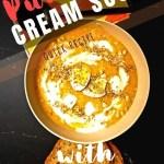 Pumpkin Cream Soup With Feta Cheese - pin2
