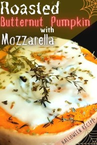 Roasted Butternut Pumpkin With Mozzarella - recipe ingredients - PIN1