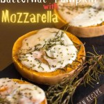 Roasted Butternut Pumpkin With Mozzarella - recipe ingredients - PIN2