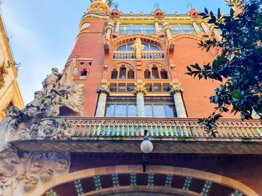 Palau de la Musica Catalana - (Barcelona) - Tour Guide & Tips for Visiting - exterior
