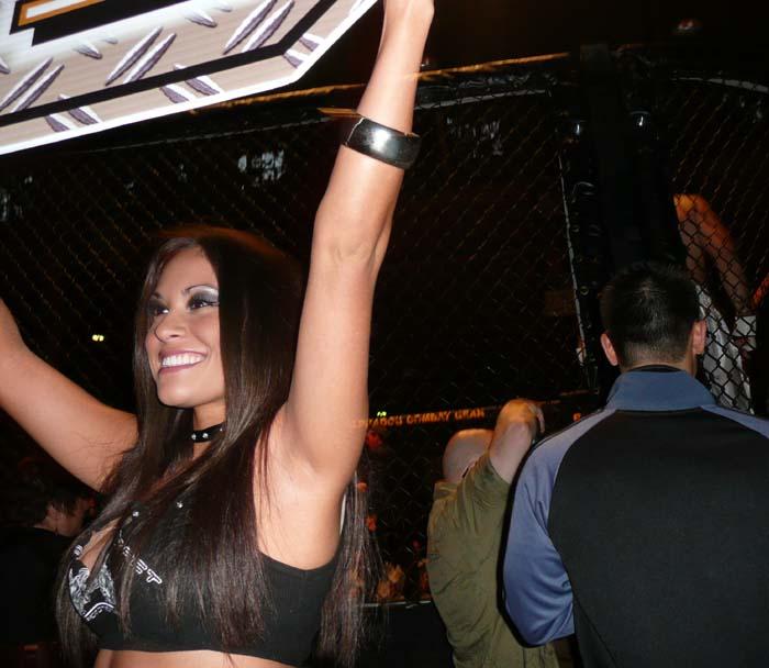 MMA Ring Girl