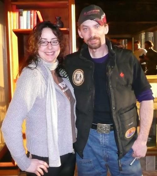 Lance Mackey and Stephanie