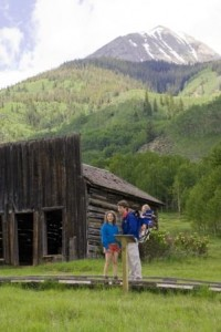 A family outing to Ashcroft, a ghost town near Aspen.