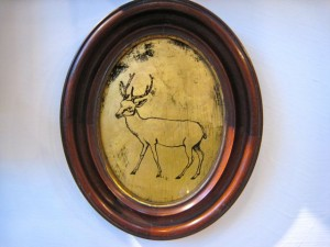Modern Relics: stag in frame
