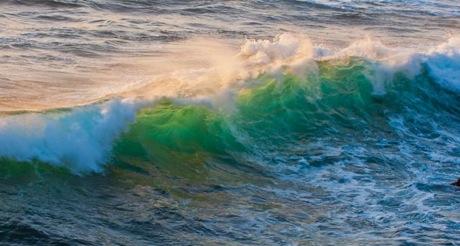 waves at big sure