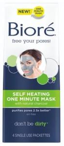 Self Heating Charcoal Mask