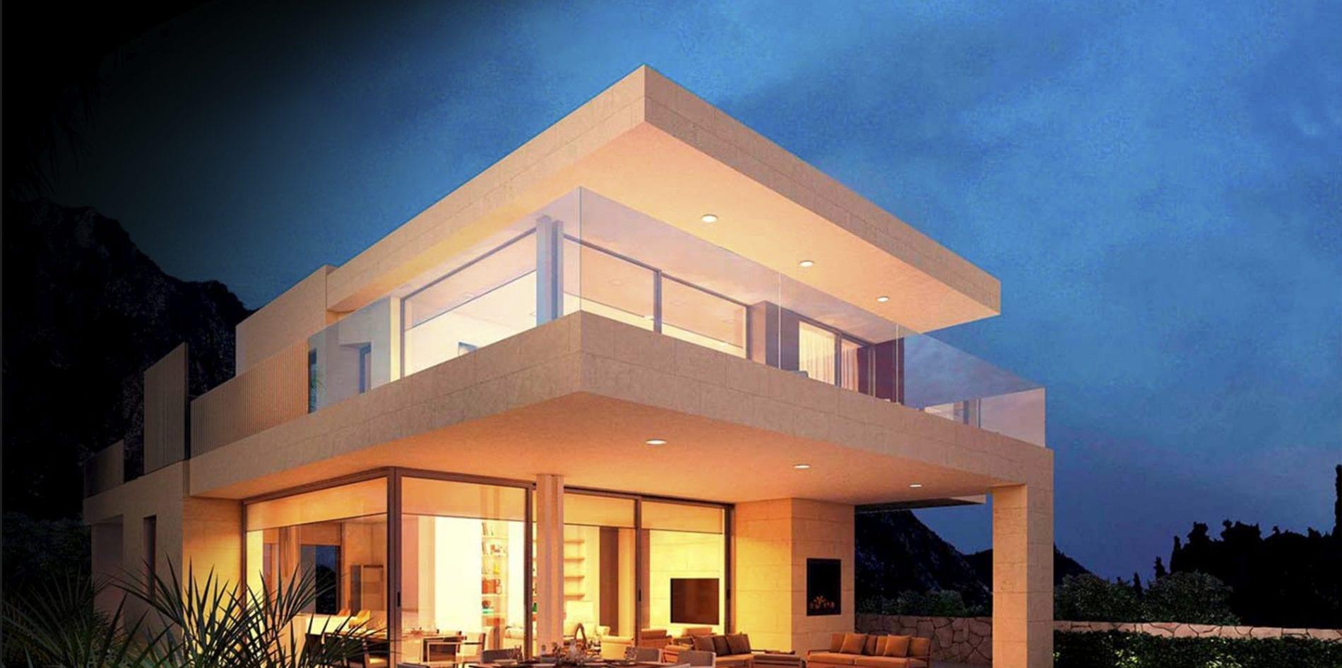 Render 3d para villas de lujo en Marbella