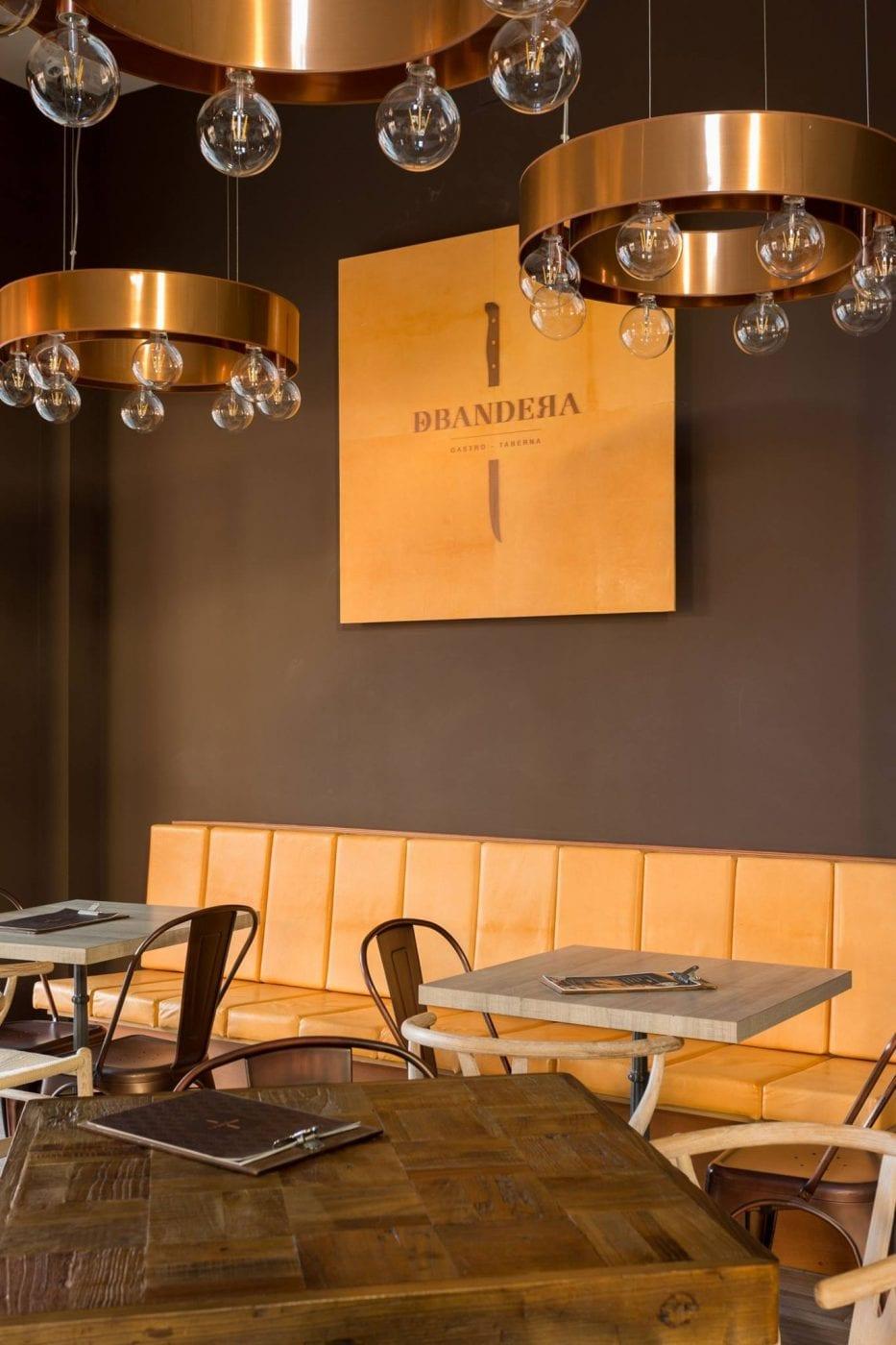 Diseño de interiores modernos y actuales para restaurantes