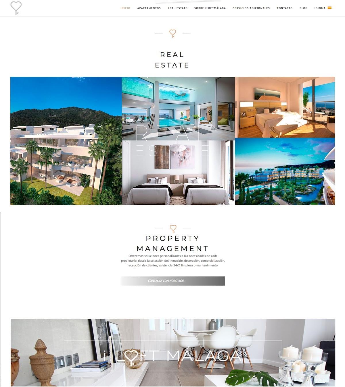 programacion web para empresa de reservas de apartamentos vacacionales