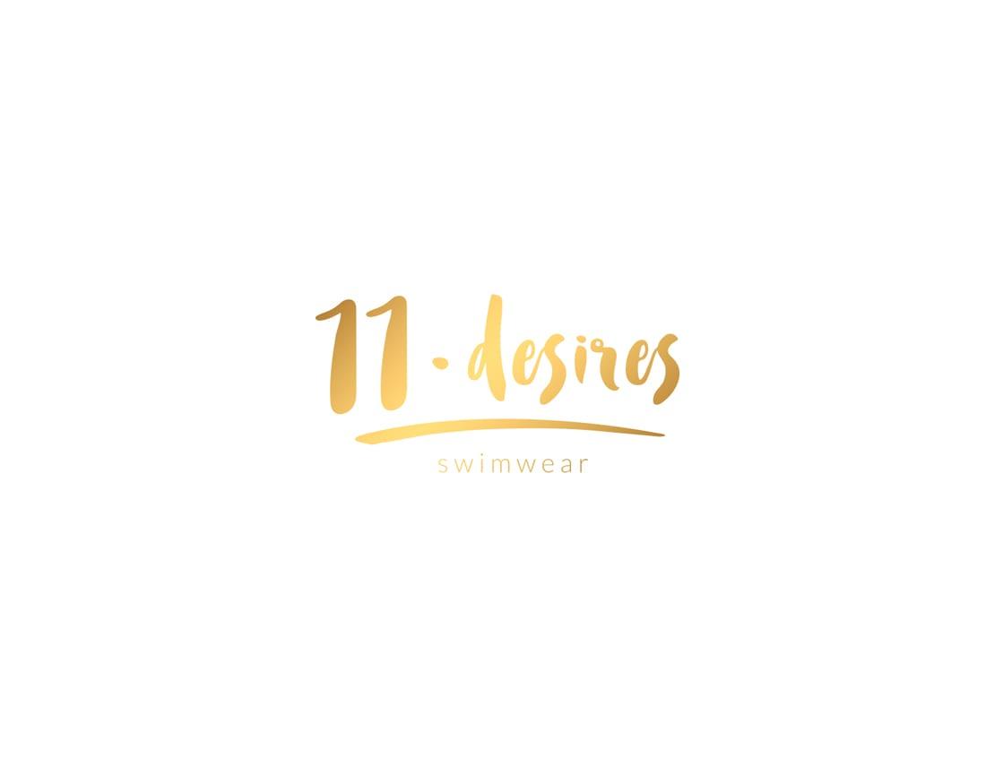 11desires, swimwear, logotipo de marca joven
