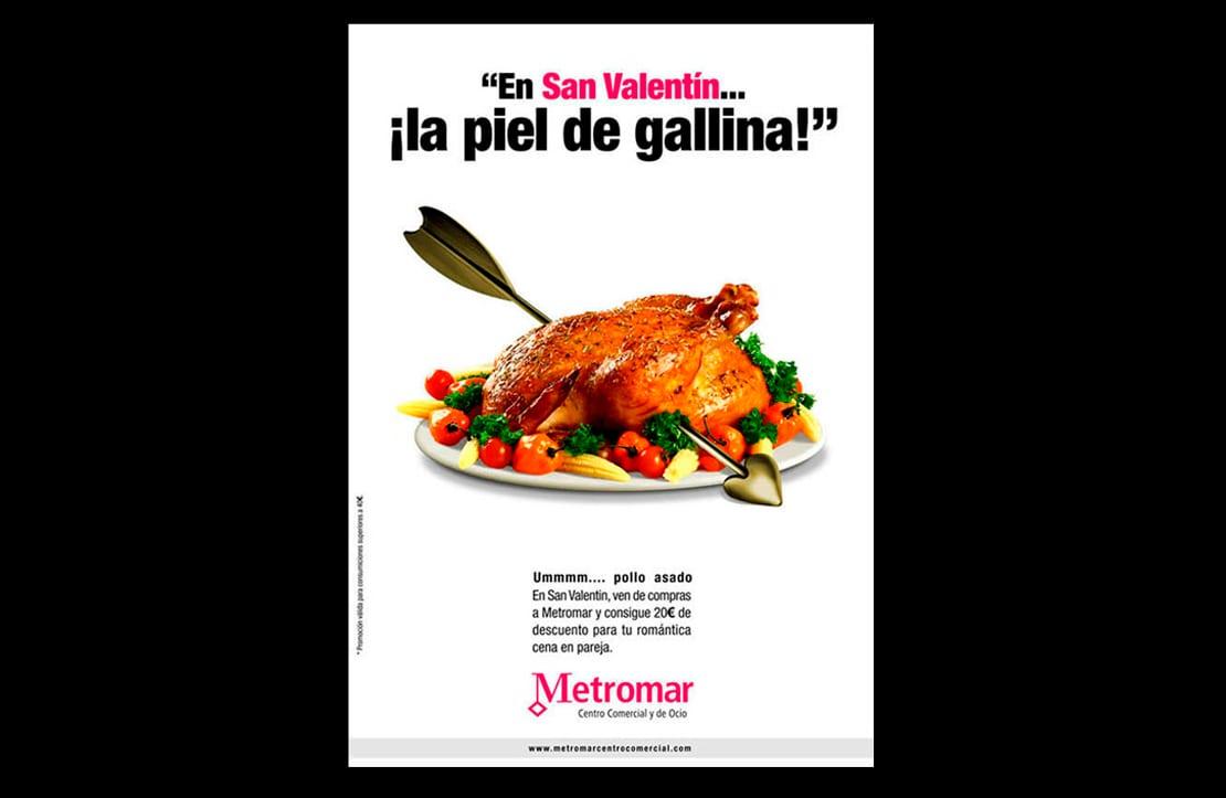 anuncio creativo para Metromar Sevilla