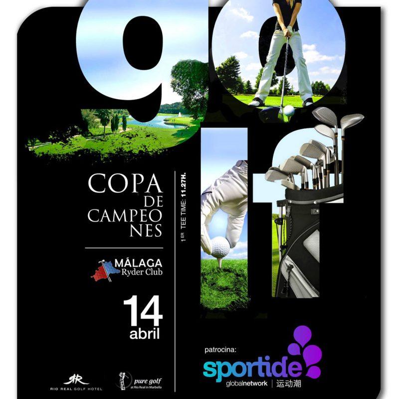 Málaga ryder club, sportide, diseño de newsletter
