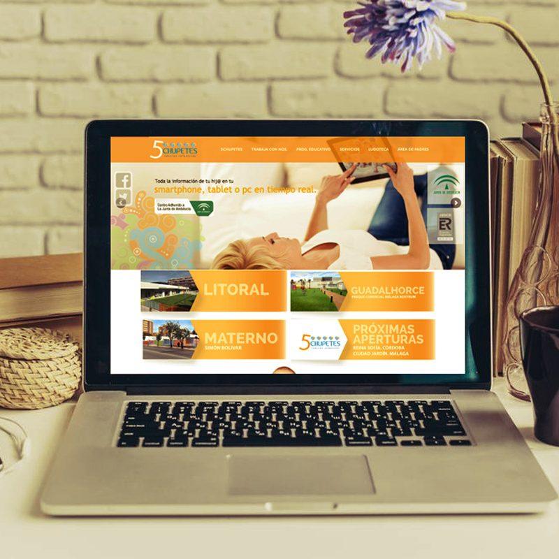 desarrollo de pagina web para guarderias
