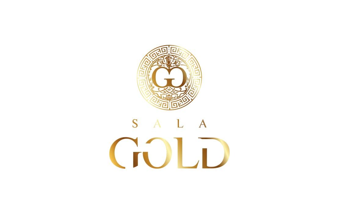 diseño de logotipo para sala gold
