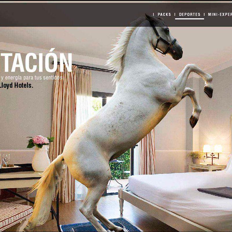 anuncio creativo para hoteles de lujo