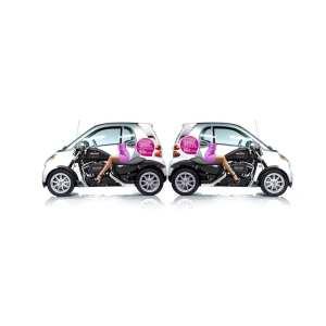 campaña creativa en coches