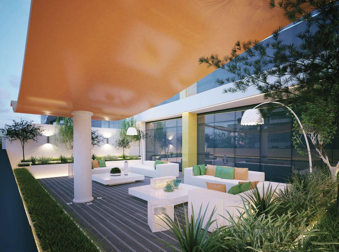 exteriores de lujo y alta calidad hechos en 3d