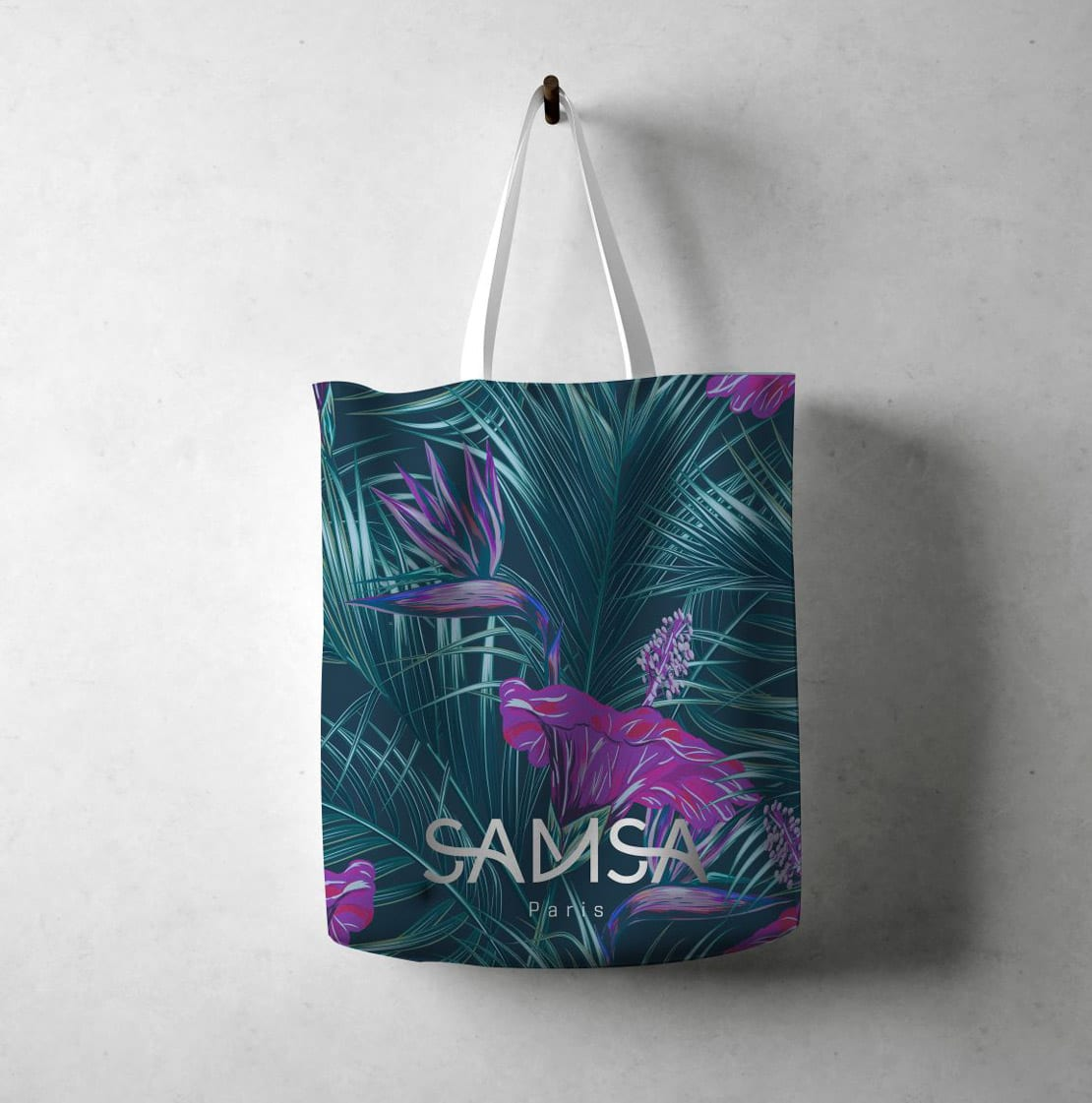Samsa shoes Paris, diseño de bolsa