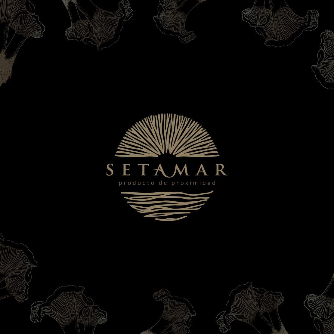 Setamar, diseño para logotipo elegante