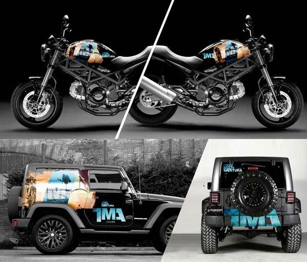 coches, motos, rotulacion corporativa