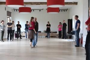 Lin en Daniël tango stage Wange
