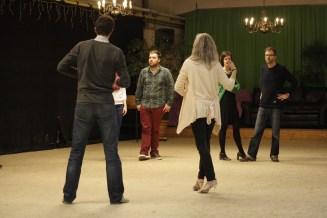 Tangoles beginners met Viv en Erik bij Tango La Luna