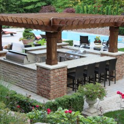 Outdoor Kitchens Kitchen Swags And Valances Tango Landscapes