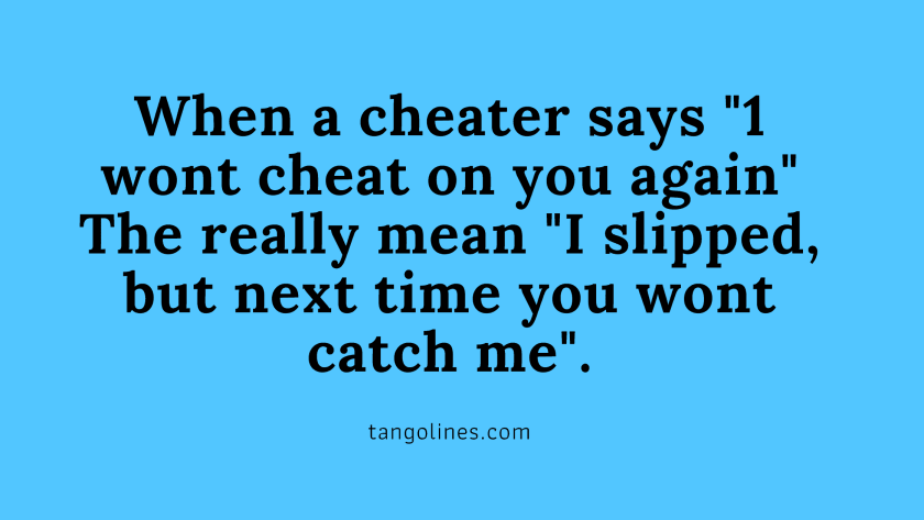 Why cheaters cheat again and again