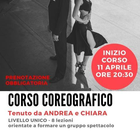 Corso Coreografico di Tango a Bologna – Giovedì – aprile 2019