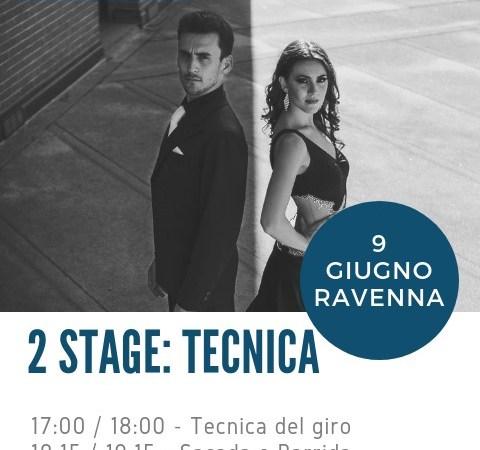 Stage di Tecnica di Tango con Andrea Vighi y Chiara Benati