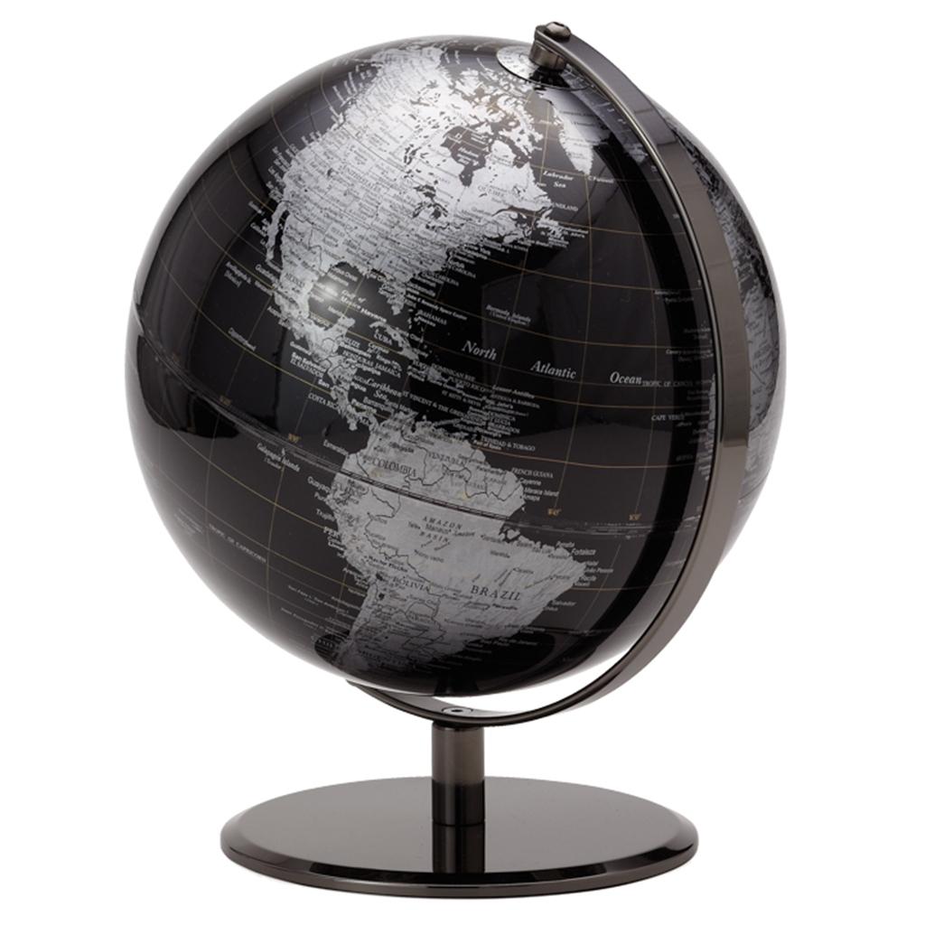 Globe terrestre noir  Tanguay