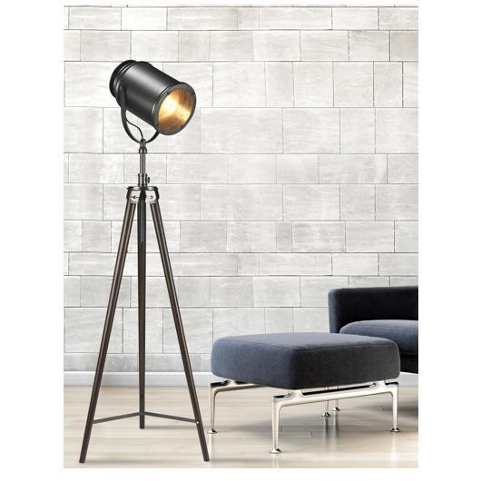 Lampe De Plancher Style Spot Tanguay