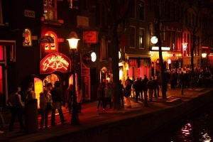 Dzielnica czerwonych latarnii w Leeds - Wielka Brytania