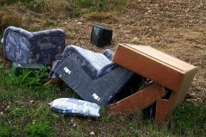 Wyrzucanie śmieci w UK