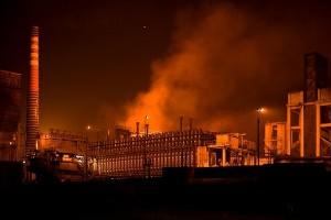Tata Steel w Port Talbot w Walii - praca - likwidacja fabryki stalii