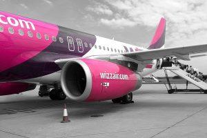 Wizz air - duży bagaż podręczny