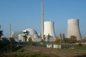 Elektrownia atomowa w Hinkley Point Somerset w Wielkiej Brytanii - praca