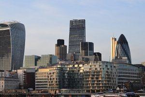 London CitLondon City - PKB - najbogatsza dzielnica Londynuy - firmy z Londynu