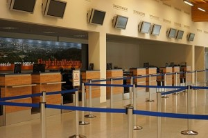 London City Airport - ewakuacja lotniska w Londynie - gaz pieprzowy