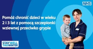 Bezplatne szczepienia przeciwko grypie dla dzieci w uk