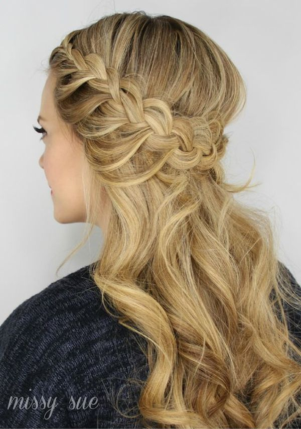 Image Result For Wedding Hairstyles For Medium Length Hair Half Up