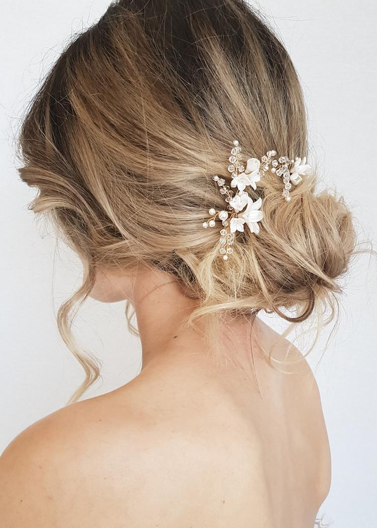 briar rose wedding hair pin set 1