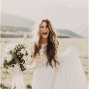effortless chic boho bridal hairstyles
