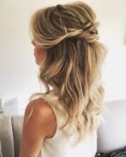 updo hairstyle - 2018 wedding